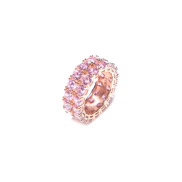Barbie Pink Double Up Ring - BERNA PECI JEWELRY