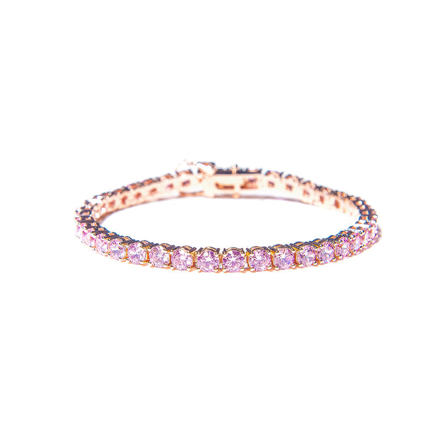 Barbie Pink BP Diamond Bracelet - BERNA PECI JEWELRY