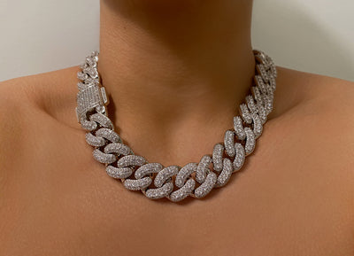 New Custom Chunky Ice Cuban - BERNA PECI JEWELRY