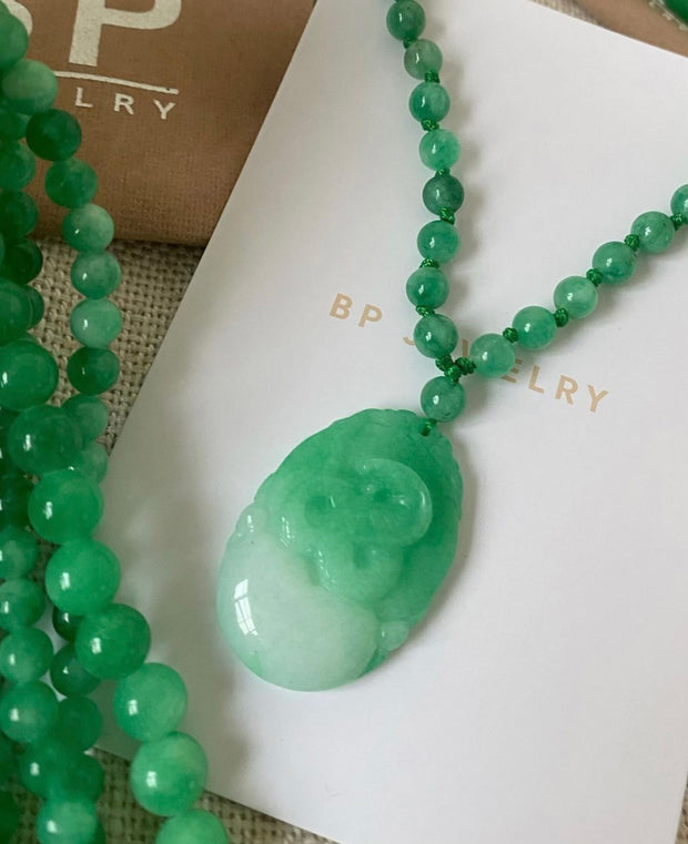 Dragon Jade Piece - BERNA PECI JEWELRY