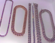 Barbie Silver Diamond Chain - BERNA PECI JEWELRY