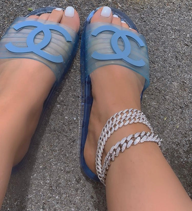 Cuban Link Silver Anklet - BERNA PECI JEWELRY