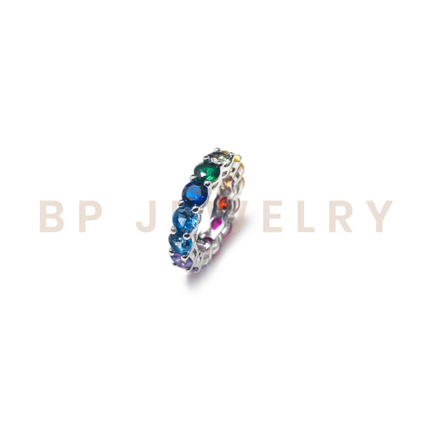 Circular Rainbow Ring - BERNA PECI JEWELRY