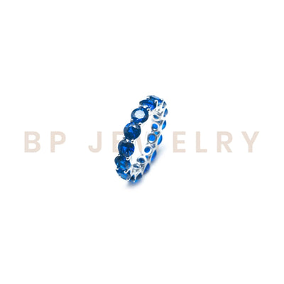 Sapphire Stackable Band - BERNA PECI JEWELRY