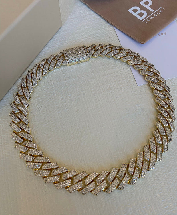 A Staple Gold Cuban Link - BERNA PECI JEWELRY