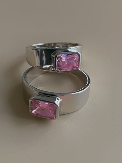 Pink Blush Classic Band - BERNA PECI JEWELRY