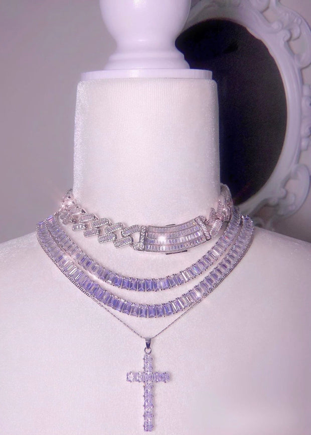 New Baguette Ice Chain - BERNA PECI JEWELRY