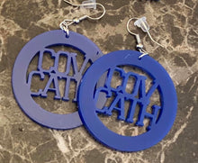 Highlands and Cov Cath Acrylic Earrings