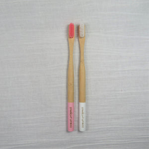 Bamboo Toothbrush 2 - Pk-Straight Up Boo