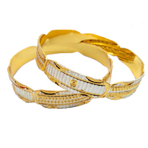 Latest New Design Gold Plated Bangle
