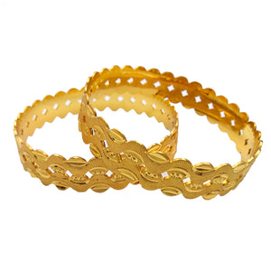 Traditional Gold Plated Bangle