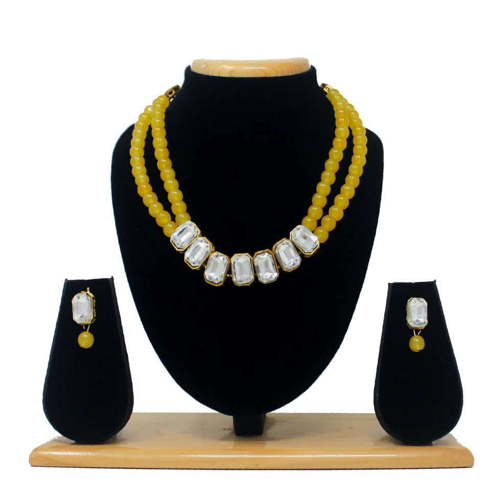 Pearl Mala Necklace Set