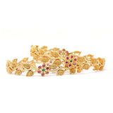 Gold Plated AD Bangles