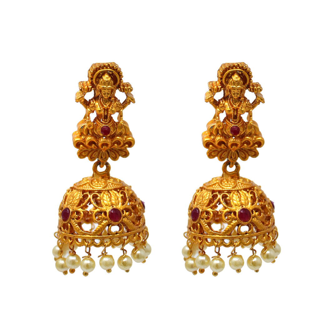 Gold Plated Antique Zhumki