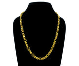 18k Micro Gold Plated Mens & Women Chain (18 Inch )