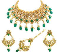 Beautifull Kundan Necklace Set For Women & Girls