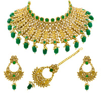 Latest Kundan Polki Choker Necklace Set