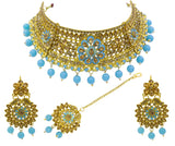 Beautiful New Design Meenakari Choker Necklace Set