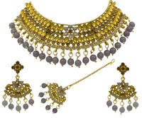 Traditional Minakari Choker Necklace Set