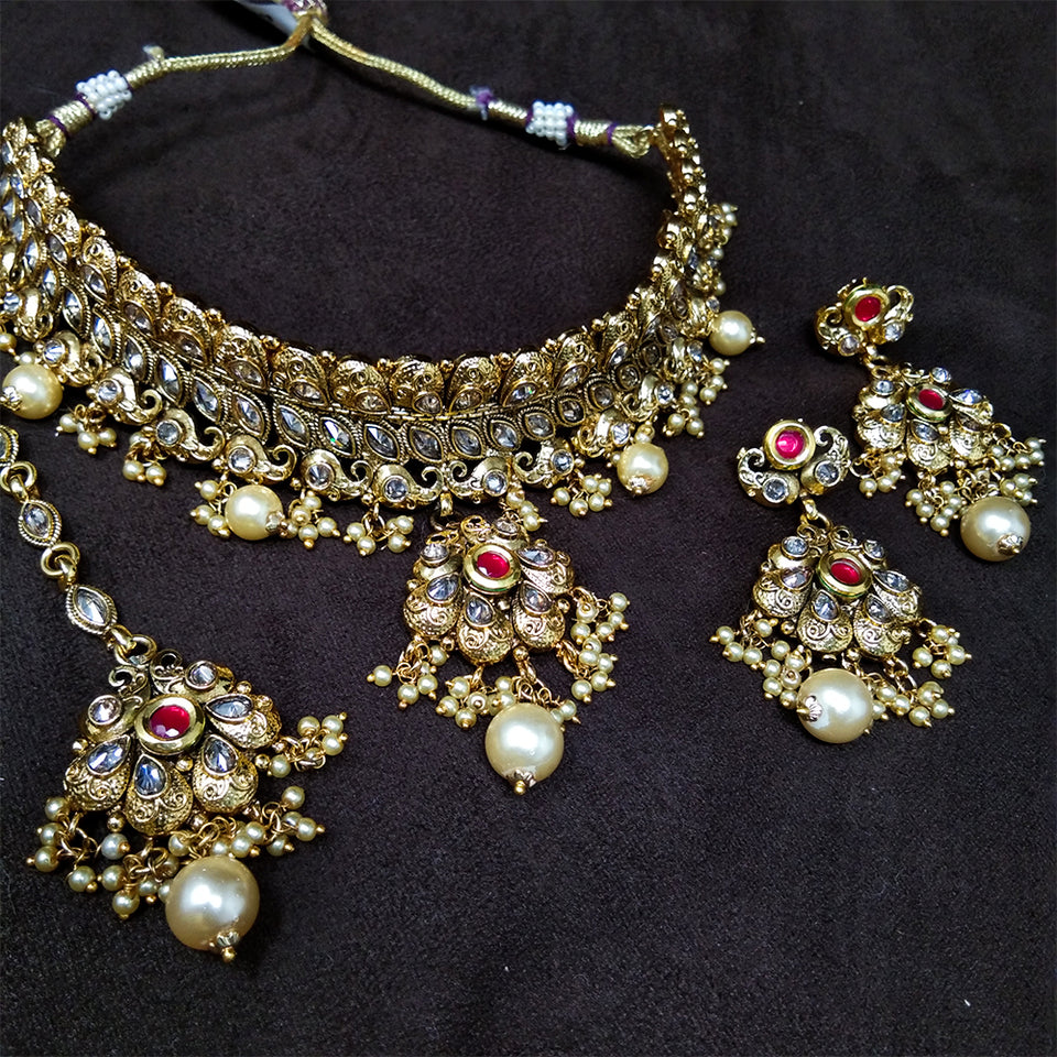 Antique AD Necklace Set