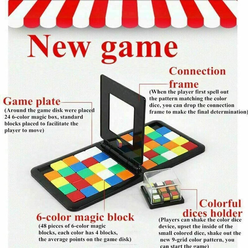 The Magic Cube Board Game