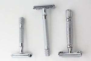 merkur 33c safety razor - chrome