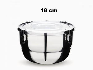 18cm Airtight Container. Capacity 1.75 L / 7.7 cups.