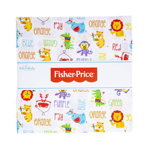 "Fisher Price Toys Layer Cake (10"" squares) by Riley Blake, 10-9760-42"