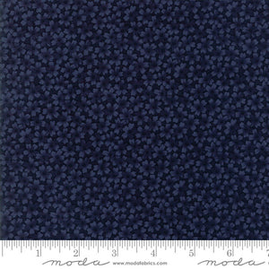 "Kansas Troubles Blue Thistle Farm Monkhead 108"" fabric by Moda, 11123-14"