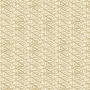 "Ivory Scroll 44"" fabric by Blank Quilting, Yuletide Botanica, 1070-41 ivory"