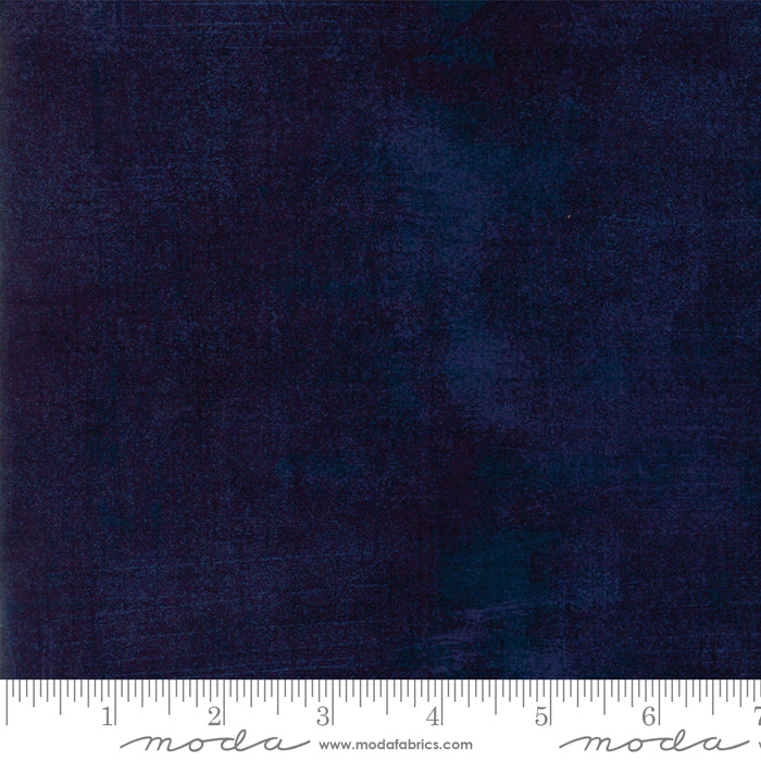 "Peacoat Blue Grunge 108"" fabric by Moda, 11108-353"