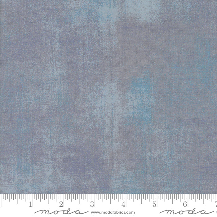"Gray - Ash Grunge 108"" fabric by Moda, 11108-354"