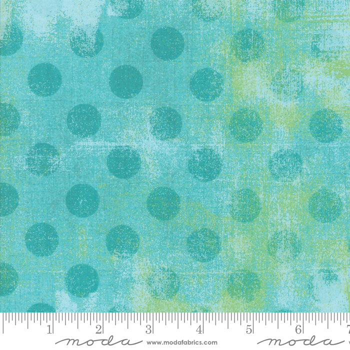 "Pool green Grunge Hits Spot 108"" fabric by Moda, 11131 30"
