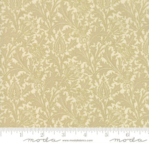 "Linen Morris Holiday Metallic 108"" fabric, Moda, 11144-11M"