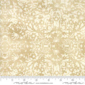 "Moda 108"" fabric White paper Winter Village 11146-11"