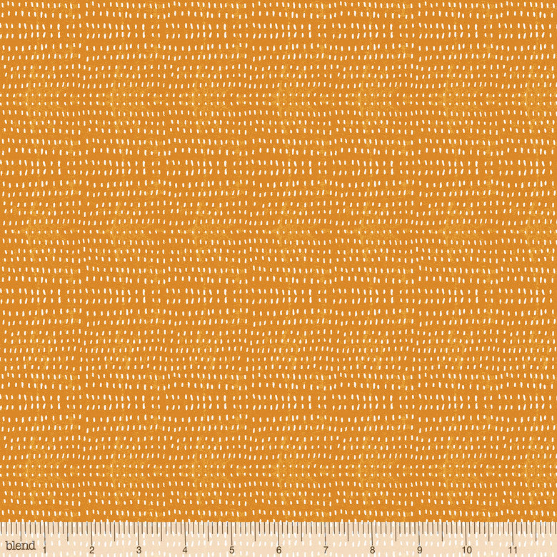 "Tangerine seeds, 44"" quilt fabric, Blend Fabrics, 112.114.06"
