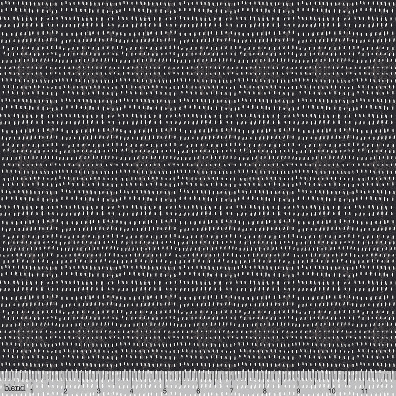 "Charcoal Black Seeds, Blend 44"" fabric, 112.114.16"