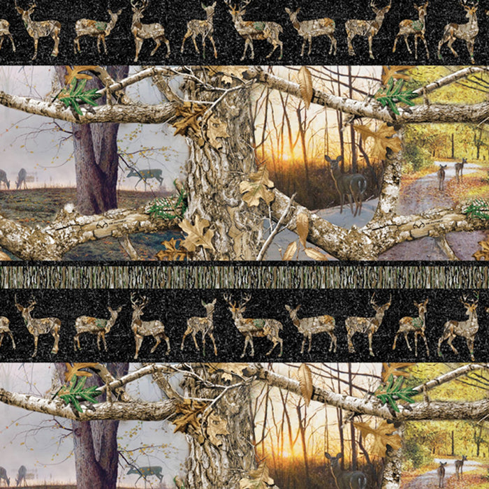 "Realtree Edge Daybreak Shelf Print 44"" fabric by Sykel, 1169-X"