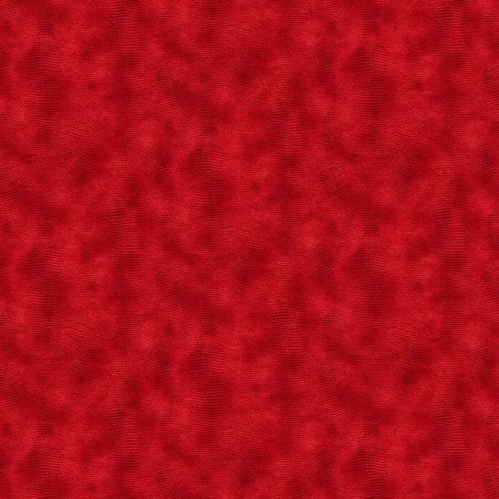 "Red Equipoise Abstract 118"" fabric by Paintbrush Studio, 183-20006"