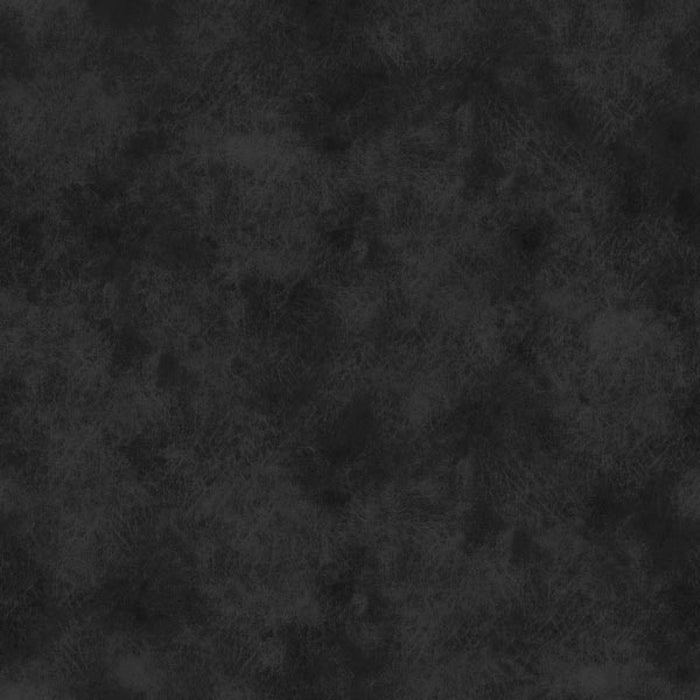 "Onyx 'Leather print' Black 118"" fabric by Fabriquilt, 183-264304"