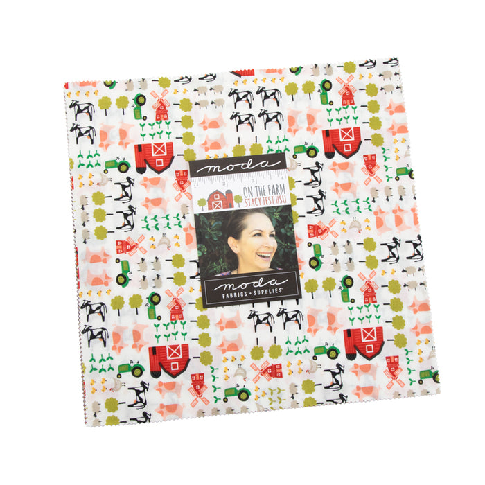 "On the Farm Layer Cake (10"" squares) by Moda, 20700LC"