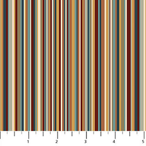 "Heritage Quilting Stripe 44"" fabric by Northcott,  21932-68"