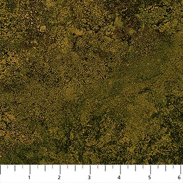 "Green earth tone 44"" fabric by Northcott,  22022-74, Stonehenge Maplewood"