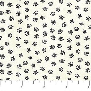 "Cat Paw Prints, 44"" fabric, Northcott,  22164-11, You had me at Meow"