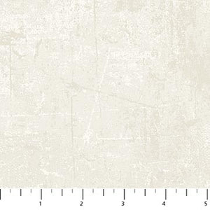 "'Distressed look' White 44"" fabric by Northcott, 22361 - 12"