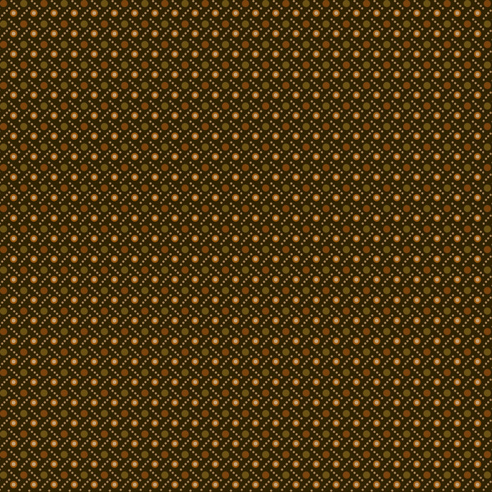 "Green - Brown dot weave 44"" quilt fabric, Henry Glass, 2276-66"
