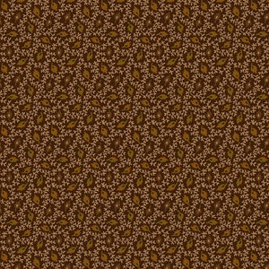 "Brown Floating Leaves 44"" quilt fabric, Henry Glass, 2279-38"