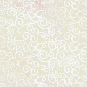 "Crystal Ombre Scrolls 108"" fabric by Quilting Treasures,  24775-KZ"