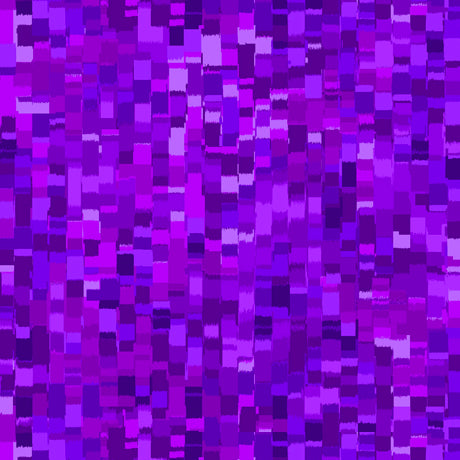 "Purple Ombre Squares 108"" fabric by Quilting Treasures, 27485-V"