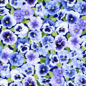 "Brookfield Iris flowers 44"" fabric, RJR,  3564, Bloomfield Avenue"